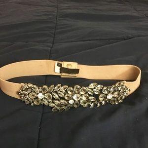 BCBG Diamond Encrusted Belt